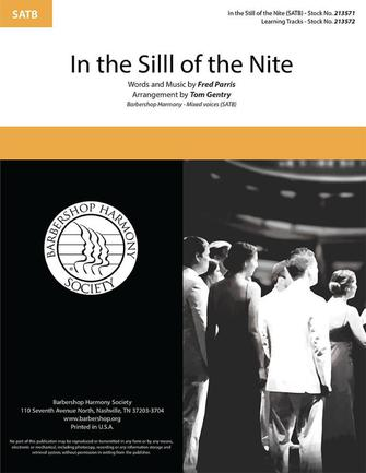 In The Still of the Night : SATB : Tom Gentry : Sheet Music : 00334016