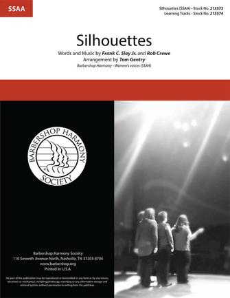 Silhouettes : SSAA : Tom Gentry : Sheet Music : 00334024 : 840126908107
