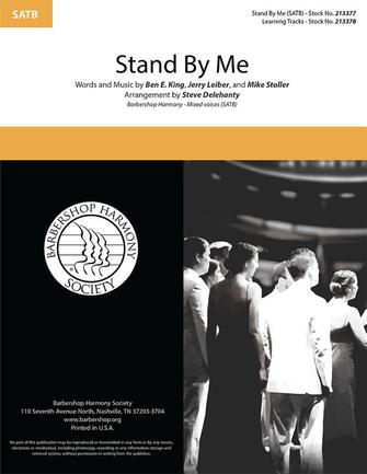 Stand By Me : SATB : Steve Delehanty : Sheet Music : 00334026
