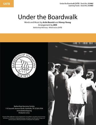Under the Boardwalk : SATB : SPEBSQSA : Sheet Music : 00334031