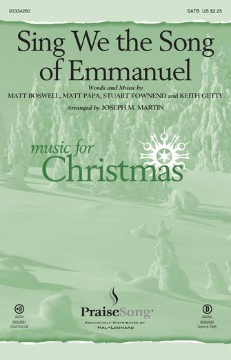 Product Cover for Sing We the Song of Emmanuel