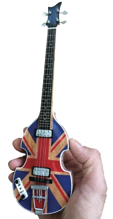 Product Cover for Paul McCartney Union Jack Mini Violin Bass Replica
