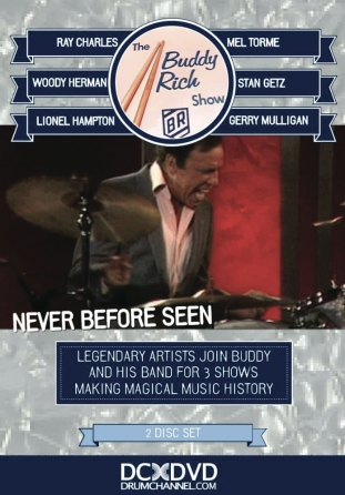 The Buddy Rich Show Dvd With Digital Download - 3hrs Of All Star Performances