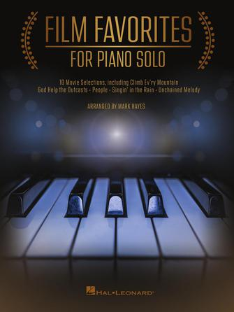 Product Cover for Film Favorites for Piano Solo