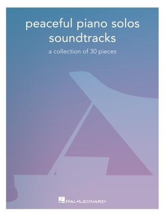 Product Cover for Peaceful Piano Solos: Soundtracks