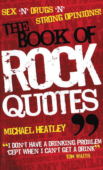 Product Cover for The Book of Rock Quotes