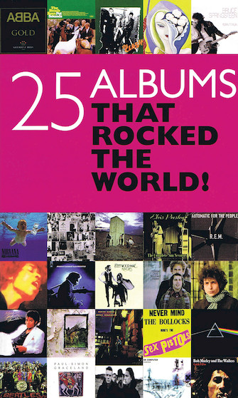 Product Cover for 25 Albums That Rocked the World