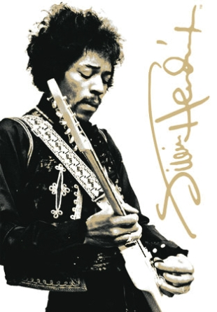 Product Cover for Jimi Hendrix Tin Sign