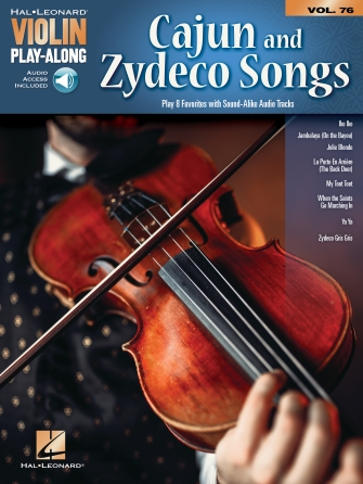 Product Cover for Cajun & Zydeco Songs