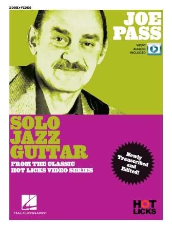 Product Cover for Joe Pass – Solo Jazz Guitar Instructional Book with Online Video Lessons