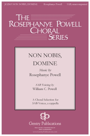 Product Cover for Non Nobis Domine