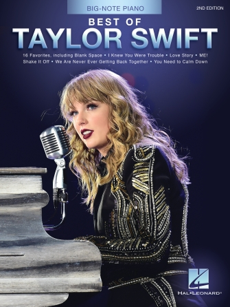 Best of Taylor Swift Big Note Piano
