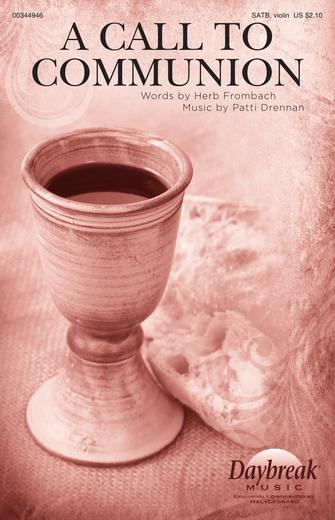 Product Cover for A Call to Communion