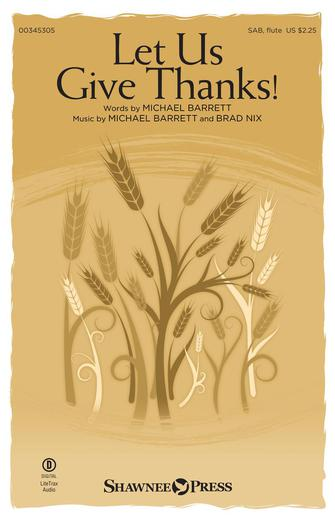 Product Cover for Let Us Give Thanks!