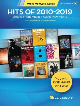 Product Cover for Hits of 2010-2019 – Instant Piano Songs