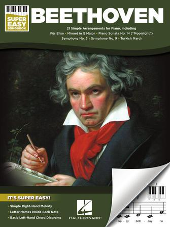 Product Cover for Beethoven – Super Easy Songbook