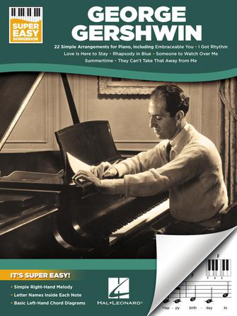 Product Cover for George Gershwin – Super Easy Songbook