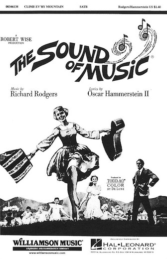 Climb Ev'ry Mountain : SATB : Charles Smith : Richard Rodgers : The Sound Of Music : Sheet Music : 00346138 : 073999461381