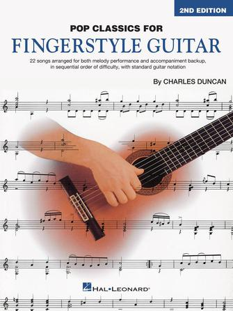 Product Cover for Pop Classics for Fingerstyle Guitar – 2nd Edition