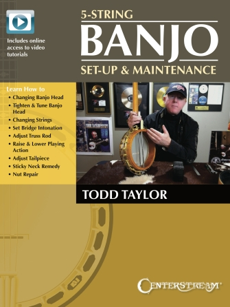 Product Cover for 5-String Banjo Setup & Maintenance