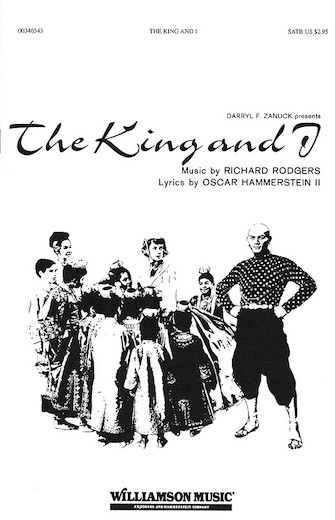 The King and I (Choral Selections) : SATB : Clay Warnick : The King and I : Sheet Music : 00346543 : 073999465433