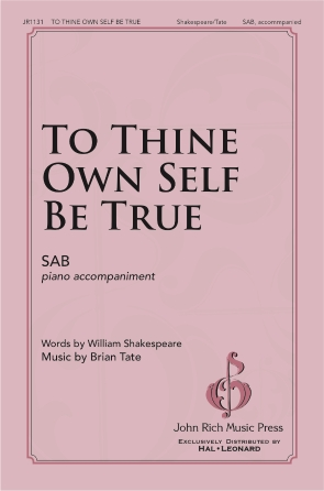 Product Cover for To Thine Own Self Be True