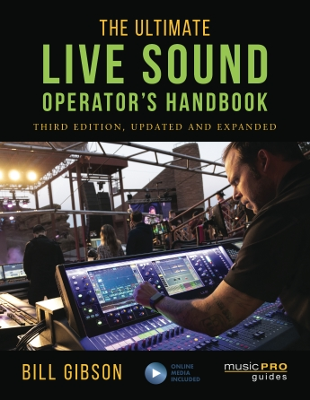 Product Cover for The Ultimate Live Sound Operator's Handbook – 3rd Edition