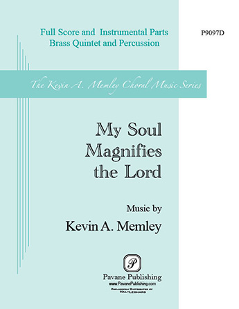 Product Cover for My Soul Magnifies the Lord (Brass Quintet and Percussion)