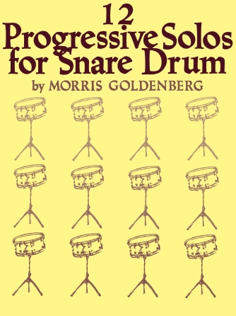 Product Cover for Twelve Progressive Solos for Snare Drum