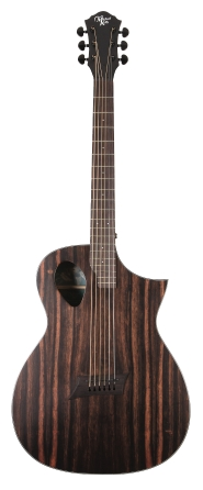 Product Cover for Forte Exotic JE Java Ebony Acoustic Guitar