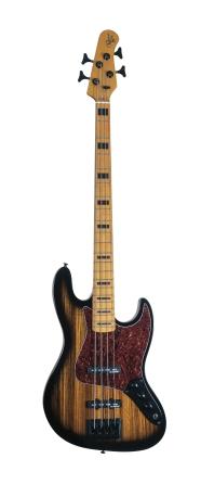 Product Cover for Vintage Element 4 Zebra Burst Electric Bass