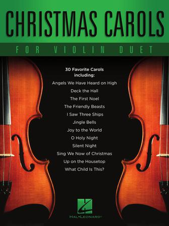 Product Cover for Christmas Carols for Violin Duet