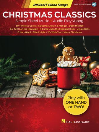 Product Cover for Christmas Classics – Instant Piano Songs