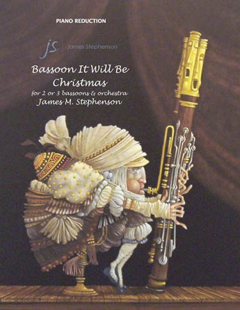 Product Cover for Bassoon It Will Be Christmas