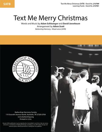 Product Cover for Text Me Merry Christmas