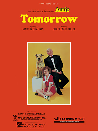 Product Cover for Tomorrow (from Annie)