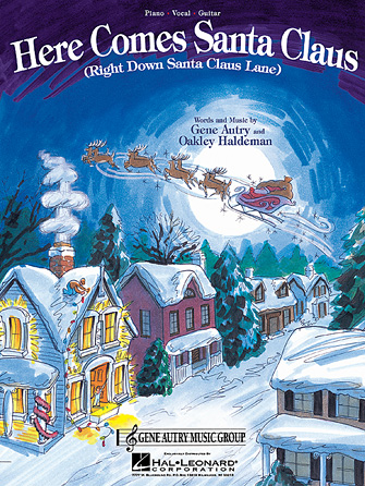 Product Cover for Here Comes Santa Claus (Right Down Santa Claus Lane)