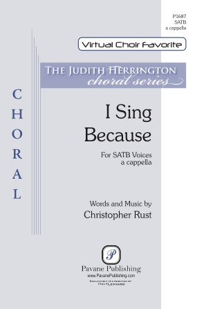 Product Cover for I Sing Because
