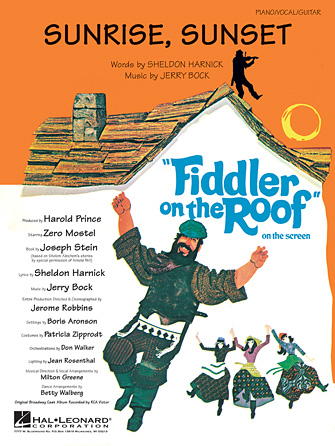 Product Cover for Sunrise, Sunset (from Fiddler on the Roof)
