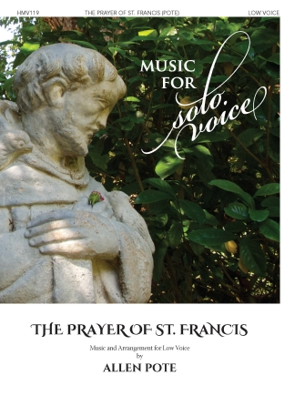 Product Cover for The Prayer of St. Francis
