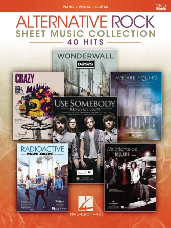Product Cover for Alternative Rock Sheet Music Collection – 2nd Edition
