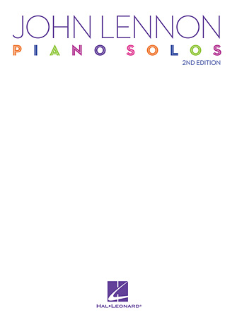 Product Cover for John Lennon Piano Solos – 2nd Edition