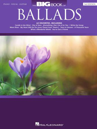 Product Cover for The Big Book of Ballads – 3rd Edition