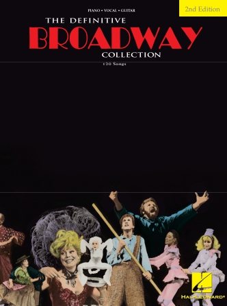 Product Cover for The Definitive Broadway Collection – Second Edition