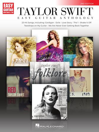 Product Cover for Taylor Swift – Easy Guitar Anthology