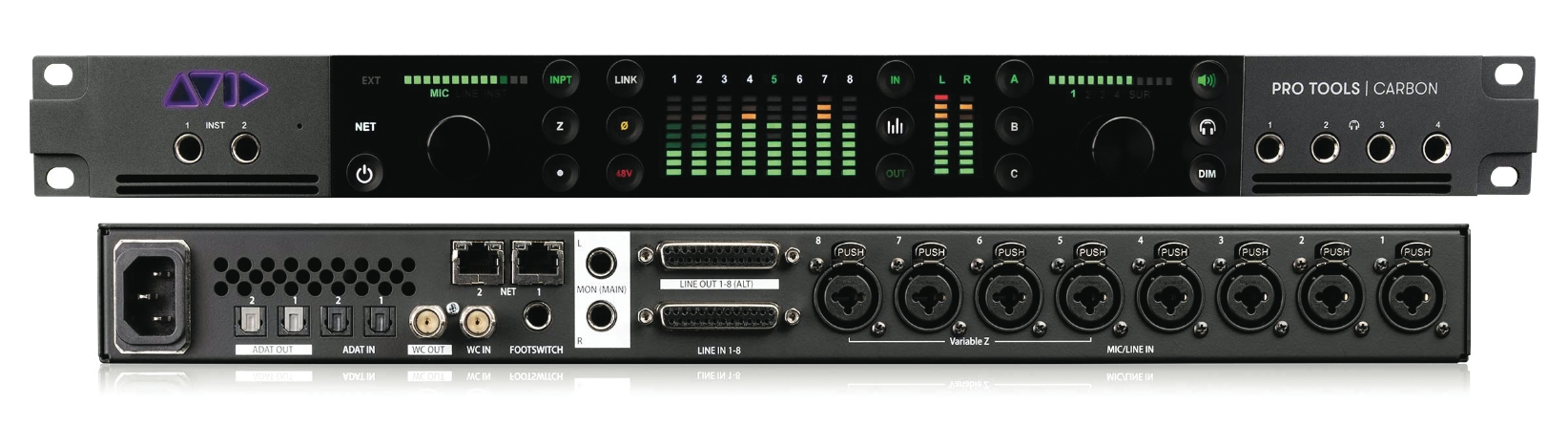 Pro Tools¦ Carbon Hybrid Audio Production System