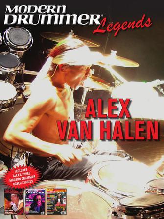 Product Cover for Modern Drummer Legends: Alex Van Halen