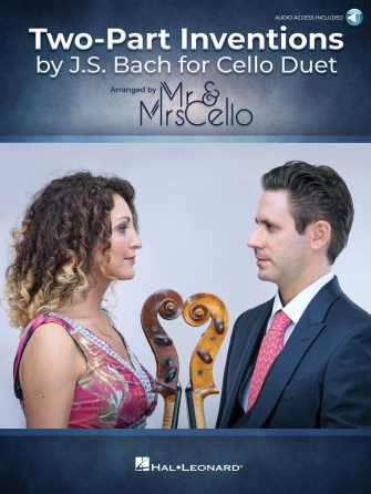 Two Part Inventions by J.S. Bach for Cello Duet