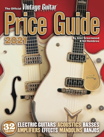 Product Cover for The Official Vintage Guitar Magazine Price Guide 2021