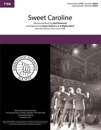 Product Cover for Sweet Caroline